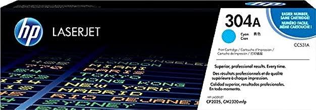 HP Numero 304A Cartucho Laser, 2800 Paginas, Color Cian