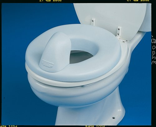 NRS Healthcare Padded Toilet Seat and Ring Reducer