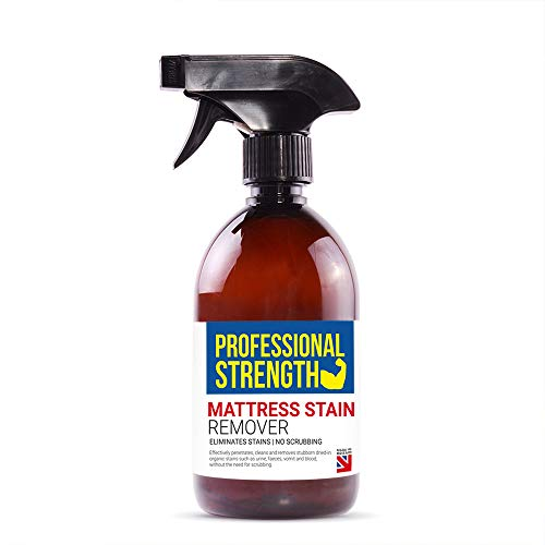 Professional Strength Mattress Stain Remover, A Powerful Mattress Stain Remover Spray to Get Your Mattress Looking As Good As New