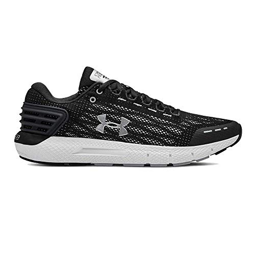 Under Armour Men's Charged Rogue Running Shoe, Jet Gray (100)/White, 7