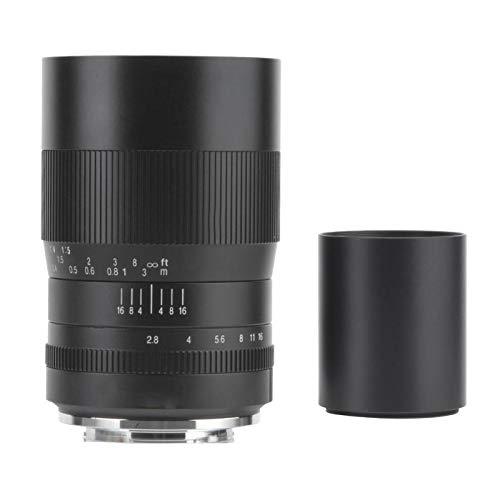 Obiettivo della Fotocamera, 7artisans 60mm F2.8 APS-C Messa a Fuoco Manuale Obiettivo Macro Adatto per Sony Adatto per Canon Adatto per Fuji per Fotocamere Nikon(Porta Nikon Z.)