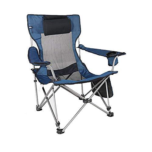 TYCOLIT Chaise de Camping Ultral/ég/ère Chaise de Camping Pliable avec Sac de Transport Pliante Compacte Chaise de Plage pour Randonn/ée Barbecue Pique-Nique Plage Peut Supporter jusqu/à 120 kg