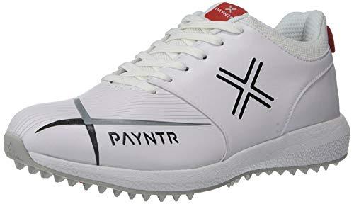 Payntr V Pimple - Classic White Cricket Shoes - US10/UK9