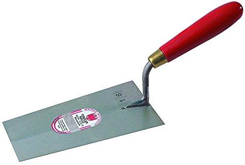 Stubai 429001 Truelle de cimenteurs 'bernoise', 120 mm, Rouge/Argent