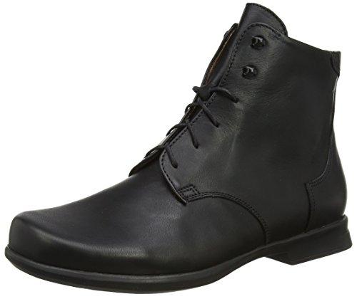 Think! Damen Pensa_989004 Desert Boots, Schwarz (Schwarz 00), 41 EU