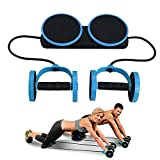 Darhoo Ab Roller Wheel - Ab Wheel Exercise Fitness Equipment - New Upgrade 5-in-1 Multi-Functional...