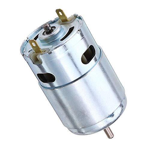 LHQ-HQ Motor de Corriente Continua de 12V-24V 3000-12000RPM Motor Engranaje Grande de par Motor Cajas de Cambio Motor eléctrico
