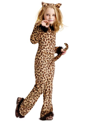 Child Pretty Leopard Costume Small (4-6)
