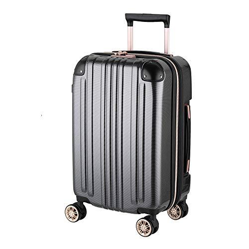 スーツケース キャリーバッグ キャリーバック キャリーケース 機内持ち込み 可 小型 SS サイズ 1日 2日 3日 容量拡張機能搭載 ダブルキャスター メーカー1年修理保証 LEGEND WALKER レジェンドウォーカー 5122-48 カーボン