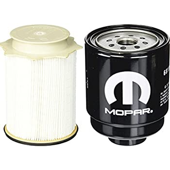 amazon.com: dodge ram 6.7 liter diesel fuel filter water separator set  mopar oem: automotive  amazon.com