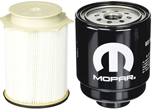 Dodge Ram 6.7 Liter Diesel Fuel Filter Water Separator Set Mopar OEM