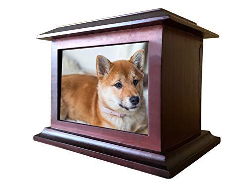 Meiyaa - Urnas de madera para mascotas, caja de recuerdos para perros, gatos u otros animales
