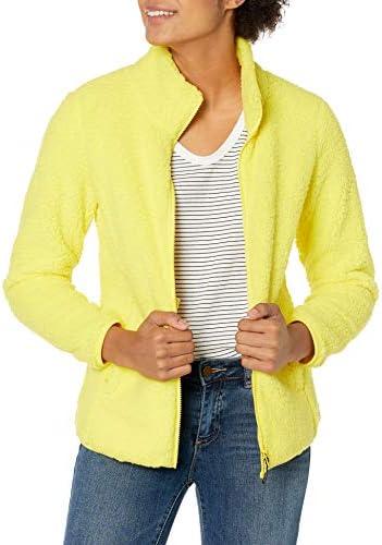 Amazon Essentials Women's Polar Fleece Lined Sherpa Full-Zip Jacket