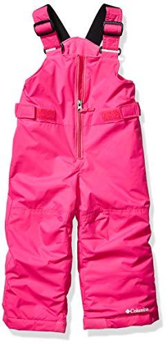 Columbia Kids Snowslope II Bib, pink ice, Large
