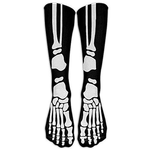 Daisylove Herren & Damen Skelett Knochen Cool Hallowmas All Sport Strumpf Socken Athletic Socken Schuhgröße 39-44 Einheitsgröße