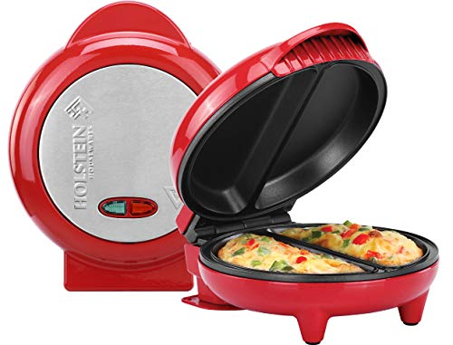 Holstein Housewares Omelet Maker, Red