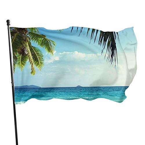 UYDHDH 3 x 5 pies fuerte, duradero, fácil de desmontar, colores brillantes y resistente a los rayos UV, toalla de playa para jardín