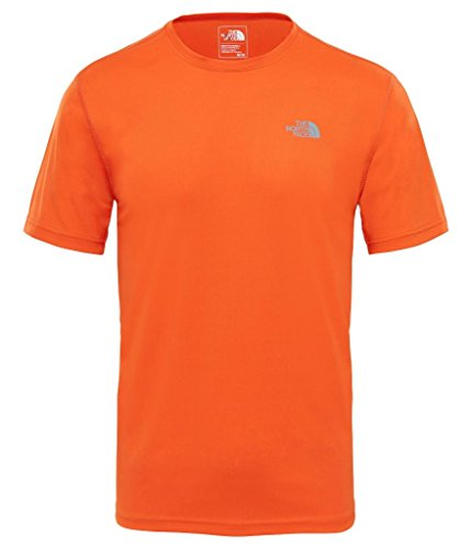 THE NORTH FACE M S/S Flex EU T-Shirt pour Homme XXL Orange