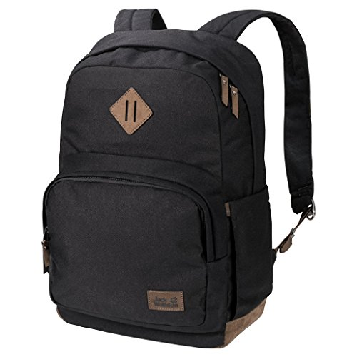 Jack Wolfskin Croxley Notebook Backpack Unisex Notebook Backpack - Black, One Size