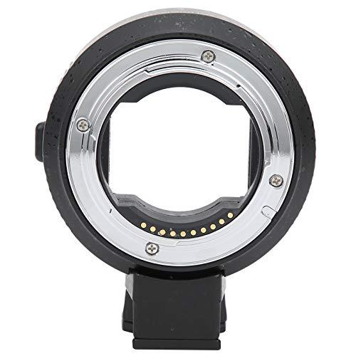 Pusokei Anillo Adaptador de Lente electrónico NF-NEX-AF, convertidor de Lente de cámara...