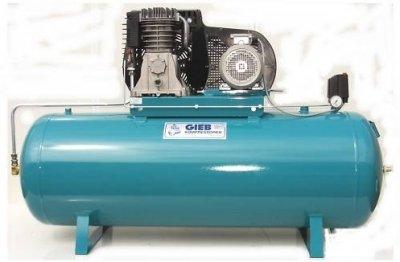 GIEB - Kompressor 750/500-11-liegend 4,0 KW 400 V