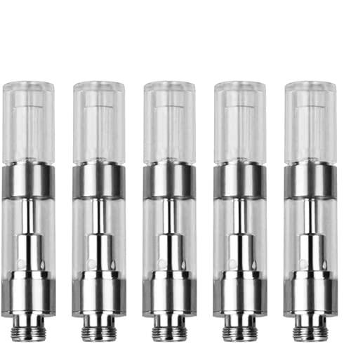 【Mr.Bald®】電子タバコ CBDアトマイザー   H9型5個入り 1.0ml  使い捨て   510互換性  フレッシュな味ガ楽しむ  セラミックコア アトマイザー