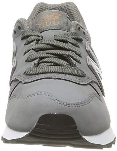 New Balance 500 Core, Zapatillas Mujer, Grey, 39 EU