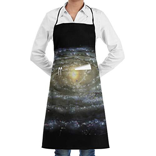 Delantales de Cocina Unisex Explosion Tablier de Chef Cuisine Polyester Barbecue Restaurant Tablier Mère Tablier Nouveauté