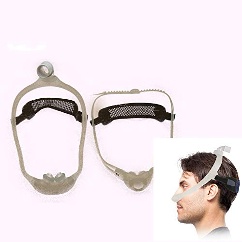 Supotto Belt Perfect Pillow CPAP Headgear Strap(Not Included Masks & Frame) - Full Sleep Nasal Mask Head Gear with Fabric Mesh and Knit System - Face Frame for Wear and Breathing Comfort