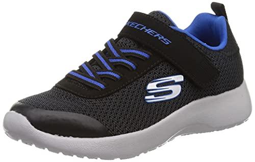 Skechers Boys Dynamight Ultra Torque Sneakers Kinder Schuhe Schwarz, Schuhgröße:29 EU