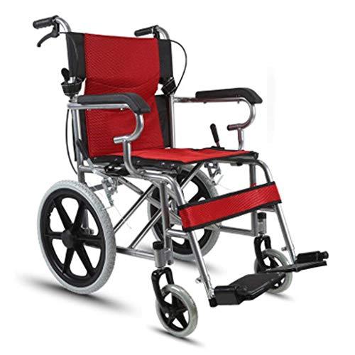 L-Y Huishoudelijke Vouwen Eenvoudig voor de Oudere Rolstoel voor de Oudere, Draagbare Fiets voor de Gehandicapten, Eenvoudig voor de Oudere Rolstoel voor de Handicapped