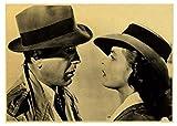 H/H Casablanca Vintage Poster Rahmenlose Malerei Moderne