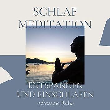 Schlaf Meditation: Nachtmusik zum entspannen und einschlafen, achtsame Ruhe
