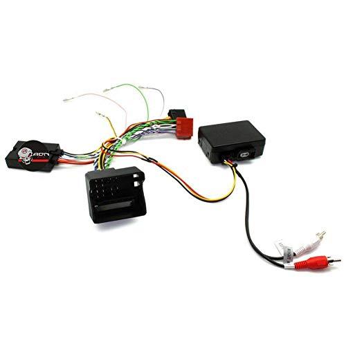 Interface Commande au volant MC8J compatible avec Mercedes 05-11 Fakra Ampli fibre JVC