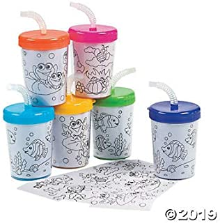 Best diy cups with lids & straws Reviews