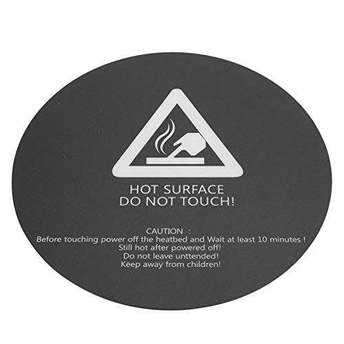 3D Printer Sticker Strong Fixing 200mm Wide Compatibiliry Without Any Residue Strong Adhesive Strength Print Paper Sticker No Air Bubbles Round for 3D Printer