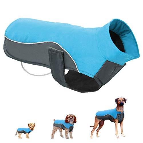 Qhome Wasserdichter Hund Wintermantel Warme Welpen Jacke Weste Haustier Kleidung Kleidung Hundekleidung Für kleine mittelgroße Hunde