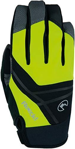 Roeckl Reutte 2021 - Guantes de ciclismo para invierno, color amarillo y...