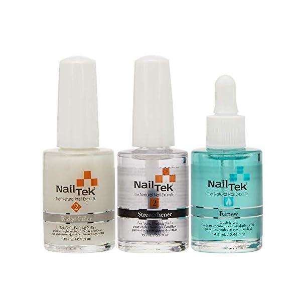 Beauty Shopping Nail Tek Nail Recovery Kit, Cuticle Oil, Strengthener, Ridge Filler – Restore