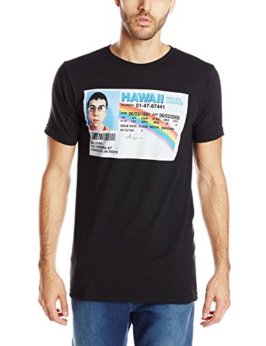 Superbad Men's Driver License Graphic T-Shirt - Black - Mediu