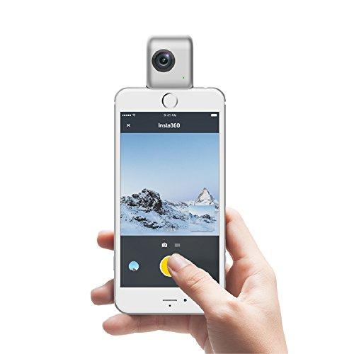 Insta360Nano Compact Mini Panoramic 3K HD Video 210Degree Dual - 8
