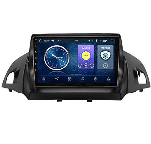 Android 8.1 GPS Navigazione Stereo Autoradio, 9' 1080P HD Touch Screen Video Player, per Ford Kuga Escape C-Max 2013-2016, Mirror Link Controllo Volante Bluetooth Hands-free Calls ,4G+WIFI2G+32G