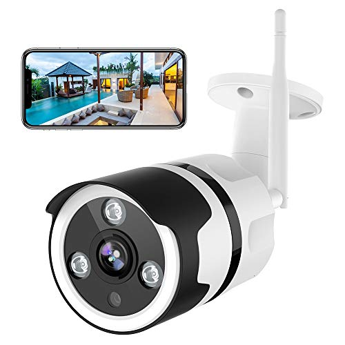 Sale!! NETVUE Outdoor Security Camera – 1080P Security Camera Outdoor with Night Vision, Motion Detection & Instant Alert, Zooms Function, IP66 Waterproof, 2-Way Audio, Cloud Storage/SD Card Work with Alexa