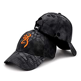 Outdoor Camping Hunting Casquette de baseball Browning Casquette de baseball pour homme Outdoor Hunting Camouflage…