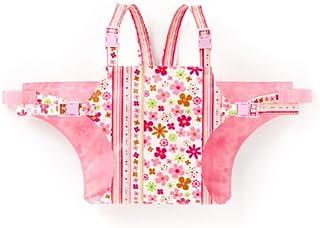 赤ちゃん チェアベルト  スカンジナビアのフラワーパーク(ブロード地・ピンク) B2602600