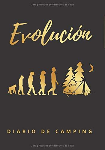 EVOLUCIÓN: DIARIO DE CAMPING | Planifica tu viaje y lleva un registro de tus estancias | Regalo especial para amantes de la naturaleza y caravanas o furgonetas..