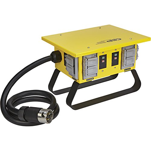 Northern Tool and Equipment Portable Power Distribution Center - 50 Amps, 125/250 Volts, 8 Outlets, Model Number 6508GU