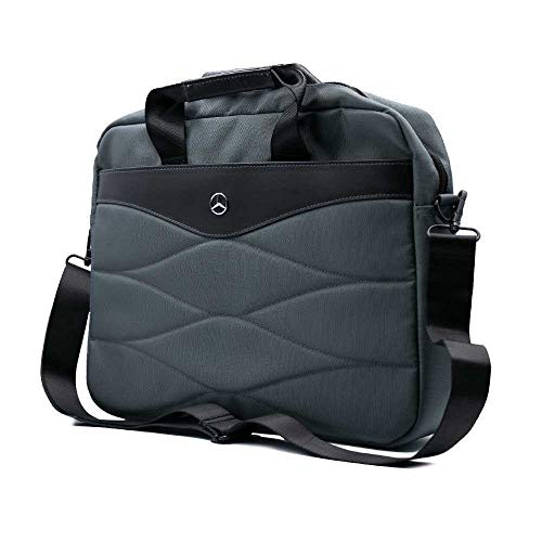 """New CG Mobile Mercedes Benz Pattern lll Grey 15"""" Laptop Notebook carry bag case"""