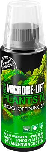 Microbe-Lift Plants N – Fertilizzante liquido azoto per piante acquatiche, altamente concentrato, 118 ml