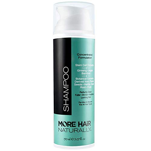 MORE HAIR NATURALLY TRIPLE STEM CELL SHAMPOO: State of the art hair improvement